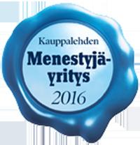 Kauppalehden Menestyjäyritys 2016
